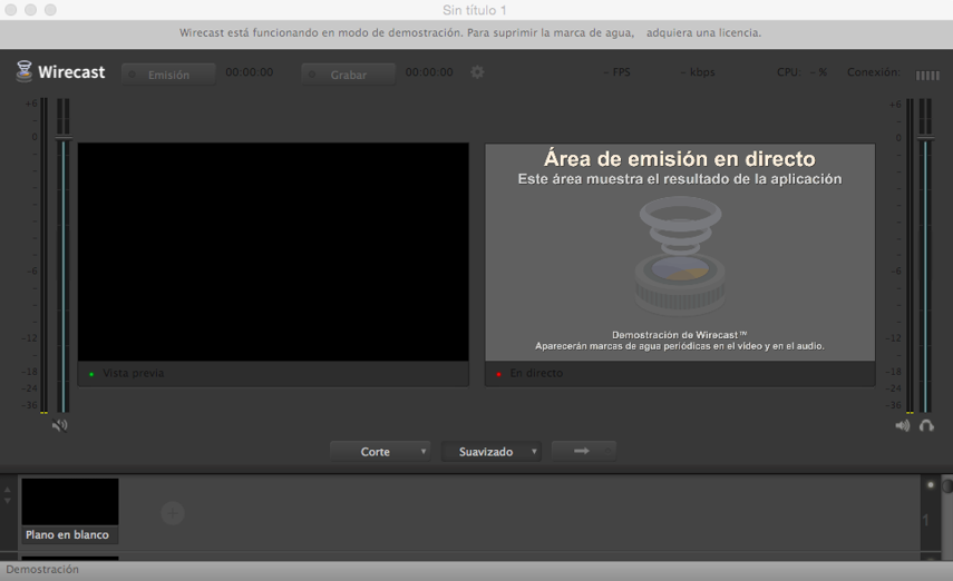 Configurar Wirecast Streaming Video