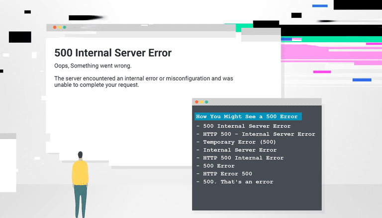 Error 500 Internal server error