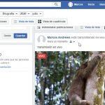 Retransmitir hacia Facebook